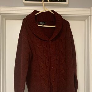 Maroon Sweater from Forever 21